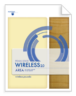 Wireless Area Sign